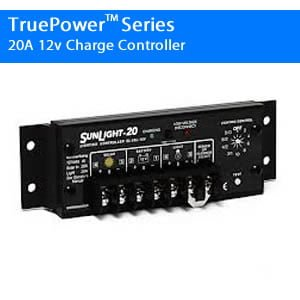 Sunlight 20A 12V Charge Controller