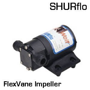 3000 Flex Vane Premium 12 VDC Impeller Pump