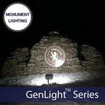 GenLight-120led-Solar-Monument-Lighting