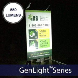 LED Solar Flood Light Kit 54 Ultra Bright LEDs