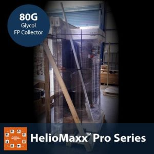 HelioMaxx Pro 80G Glycol Solar Hot Water Kit With Flat Plate Collectors