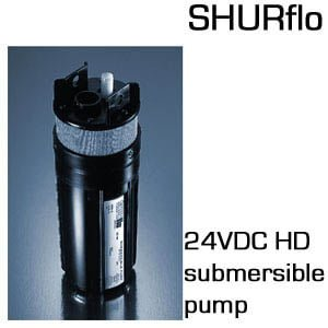 9300 24 VDC Heavy Duty Submersible Pump