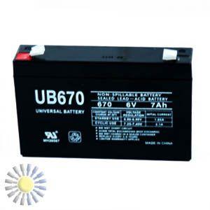 Sealed Lead Acid Batteries 4V 0.5AH