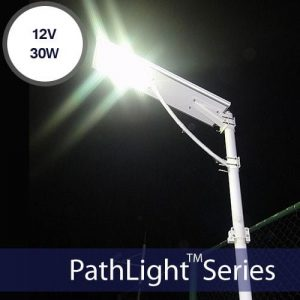 30W Solar Parking Lot Lights