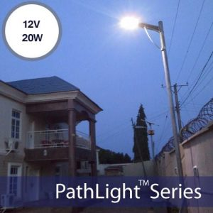 20W Solar Powered Street Lights