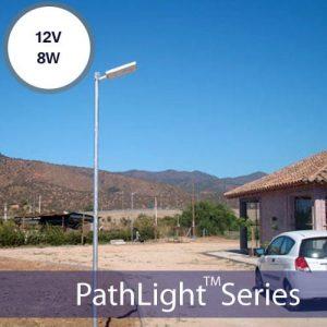8W Solar Powered Street Lights