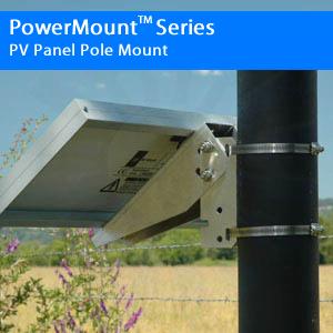 Single Arm Side of Pole Mount, 13″