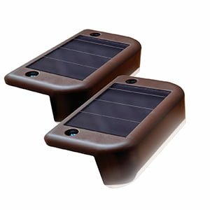 SOLAR DECK LIGHT – 4 PACK
