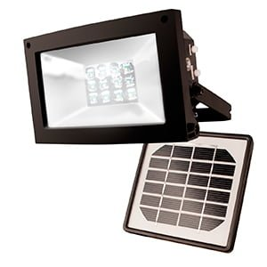 SOLAR-POWERED FLOOD LIGHT