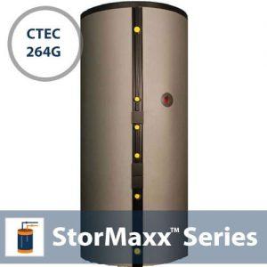 264G StorMaxx CTEC Solar Storage Tank W/ 2HX