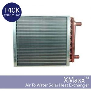 18x20inch Air to Water Heat Exchanger