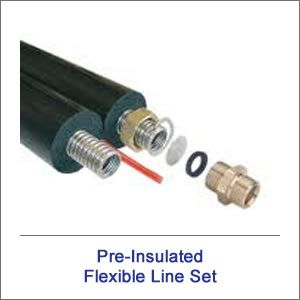 FlowMaxx-USA-1-in dia x 75ft L Pre-insulated Dual Lineset