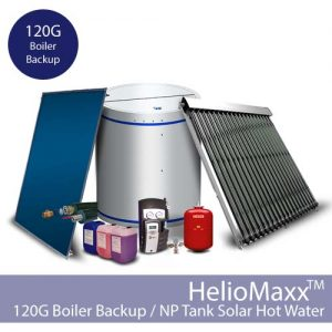HelioMaxxPro Boiler Backup DHW Kit – 120G / NP (Collectors Not Included)