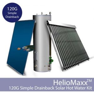 HelioMaxxDB Drainback DHW Kit – 120G / SDB (Collectors Not Included)
