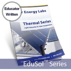 Light Intensity Vs. Temperature of the Tube – Solar Energy Lab