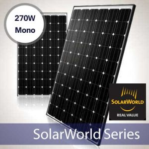 SolarWorld SW270 270 Watt Mono Solar Panel