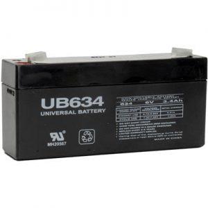 Sealed Lead Acid Batteries 6V 3.4AH
