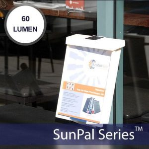 SunPal Solar Brochure Box Light