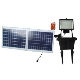 156 LED Solar Outdoor Flood Light with Remote Control