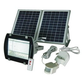 156 LED SMD Solar Outdoor Security Flood Light Kit