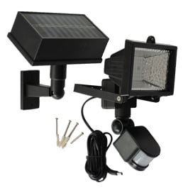 54 LED Solar PIR Motion Sensor Outdoor Security Flood Light