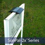 solarsignlightingpostlight