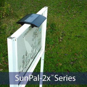 New SunPal 2x Solar Real Estate Light