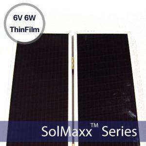Thin Film Solar Panels 6.4w 6-10v 950ma