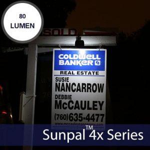 2LED Solar Real Estate Sign Light