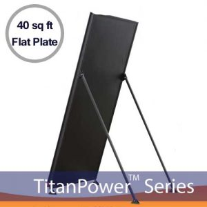 TitanPower ALH 40 FT2 Flat Plate Solar Collector