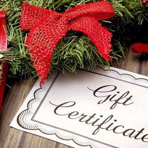Solar Gift Certificates