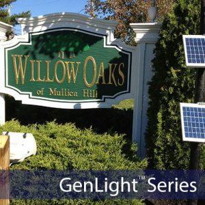 Commercial Solar Sign Lights