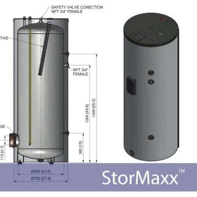Solar Water Storage Tanks