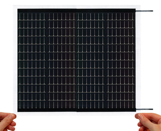15.4V 200mA Flexible Solar Panel (Weatherized)