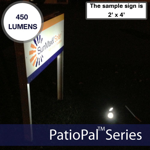 Solar Spot light & Flag Light 24 Ultra Bright LEDs