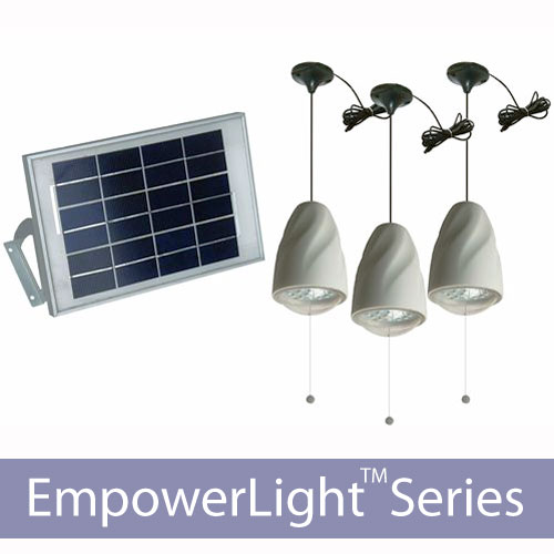 60 LED Solar Home Lighting System