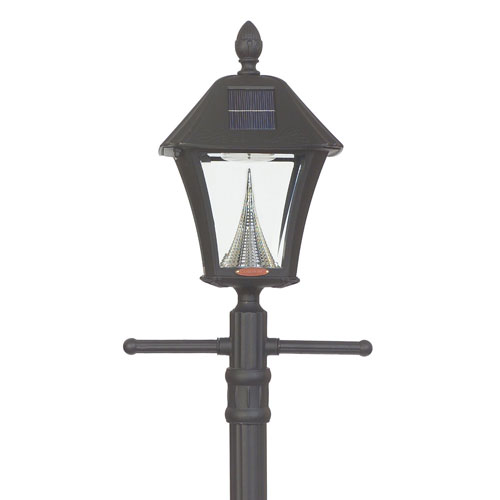baytown solar lamp post light. Black Bedroom Furniture Sets. Home Design Ideas