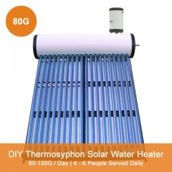 80G DIY Thermosyphon Solar Water Heater