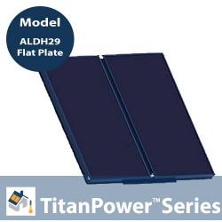 TitanPowerPlus ALDH29 - Flat Plate Solar Collector