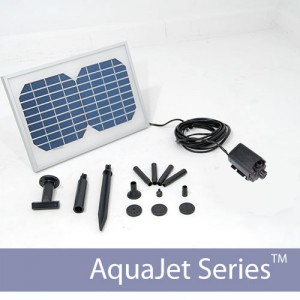 Solar Water Fountain Medium Output Pump Kit