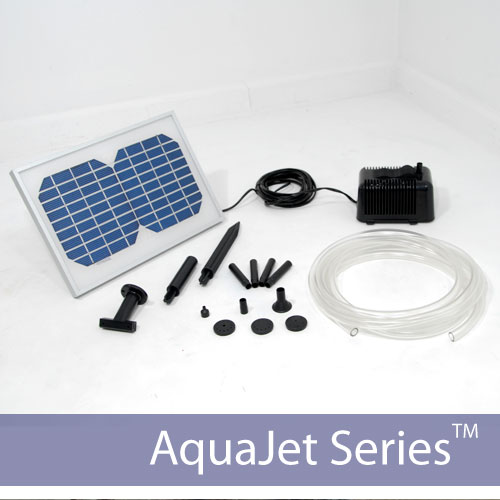 Solar Waterfall Fountain Pump Kit