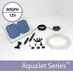 Solar Waterfall Fountain Pump Kit 12v