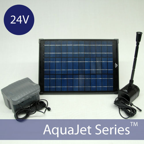 Solar Water Fountain Pump Kit AquaJet Pro Kit 24V