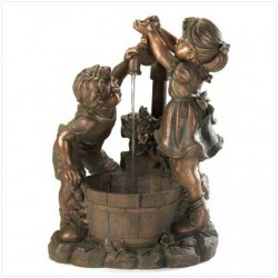 AquaJet-SF-FunPlay-Kit Cascanding Birdbath fountain