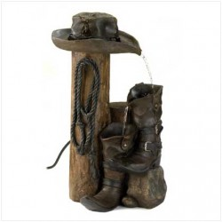 AquaJet-SF-WildWestern-Kit Cascanding Birdbath fountain