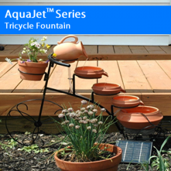 AquaJet Series Tricycle Fountain