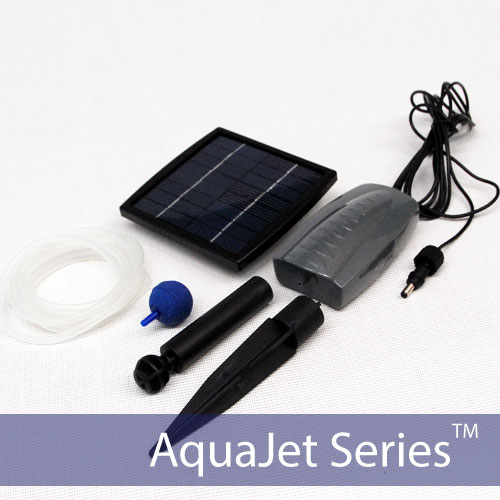 Solar Powered Aerator Kit by Silicon Solar