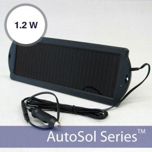 1.2W ThinFilm Trickle Automotive Solar Charger