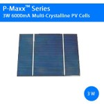 6000mA 3W Commercial Solar Cell