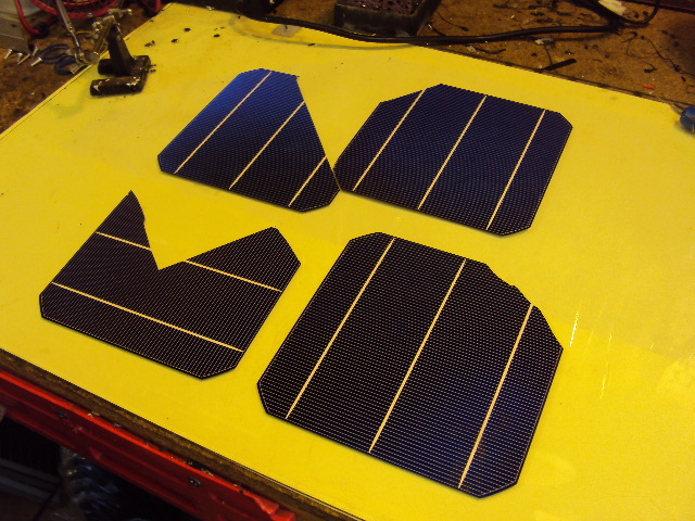 Built My Own Solar Panel with Cells By The Watt Kit